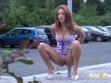 Hot Girls Public Pissing.