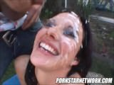Compilation Facial Taylor Rain & Tiffany