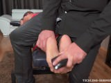 Barbara & Mr. Tickler [Only Nylon Feet Tickling]